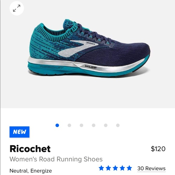Brooks Ricochet NWT